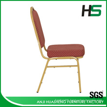 Low price gold metal dining chair made in China