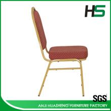 Cadeira moderna de jantar em aço inoxidável fabricada na China