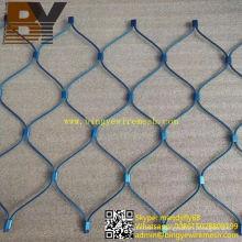 Ferrule Type Wire Rope Mesh Fence