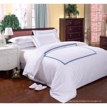 100% хлопок или T / C 50/50 / Отель вышивки / домашний комплект постельного белья (WS-2016028)