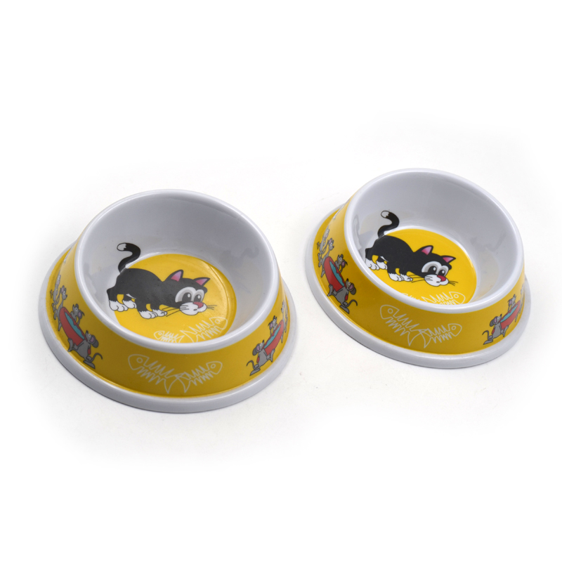 Melamine Cat Bowls for Small Cats
