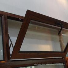 Pliegue de vidrio incline y gire la ventana del fabricante de china
