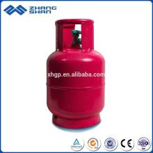 Heißverkaufte 5 kg LPG-Gasflasche aus massivem Stahl in Bangladesch