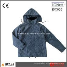 Construction Workwear Polyester Breaker Winter Padding Jacket