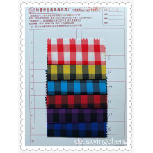 Elastic Plaid Color Matching Fabric