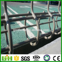Factory Price Double Circle Powder Coated Wire Mesh Fence
