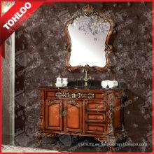 Gabinete de espejo antiguo y clásico del cuarto de baño (espejo de la astilla de 5m m)