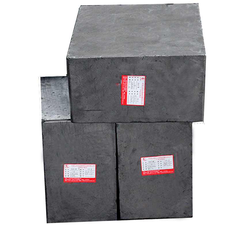 Vibrating Graphite block
