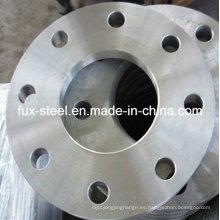 Cara plana de 1000/3 SABS1123 engrasado acabado soldadura de brida de la placa con el Material de acero suave (placa FF FLG)