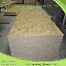 Embalagem e construção grau 6-25mm OSB Board com preço barato