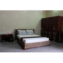 Cama de Jacinto de Agua Natural Diseño Simple para Muebles de Dormitorio