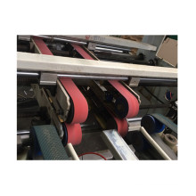 Red running belt for automatic glue machine