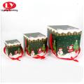 Traje de horquilla para niños Accesorios para el cabello Caja de regalo de Navidad