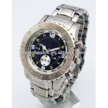 Art- und Weiseautomatische Uhr, Mann-Edelstahl passt 15031 auf