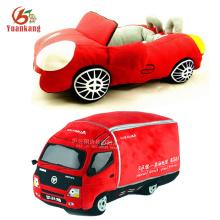 Personalizado caminhão de bombeiros / ambulância / carro de corrida / helicóptero / ônibus escolar / tanque / avião / DumpTruck recheado de brinquedo de pelúcia