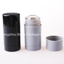 Récipients en plastique vides ronds de désodorisant de 30ml 50ml 75ml pour l'emballage de cosmétiques