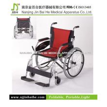 Tragbares Leichtes Aluminium Manuelles Rollstuhl