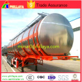 3axle Aluminum Water Milk Tank Semi Trailer