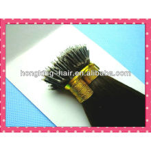 dark brown color 5a remy hair nano ring hair extension