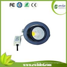 Поворотный светодиодный светильник на 10Вт 15Вт 26ВТ высокая Яркость 130 лм/Вт