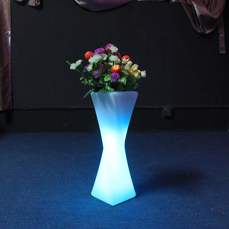 Led Flower Pots Useing Outdoor
