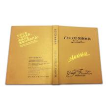 Buntes festes Abdeckungs-kundenspezifisches Offsetdruck-Buch