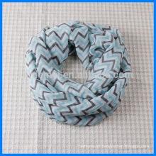 Custom made infinity loop scarf