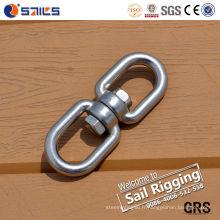 Acier inoxydable 304/316 G402 chaîne pivotant avec oeil et oeil