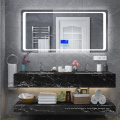 High Gloss White Sink Bathroom Vanities with Drawers