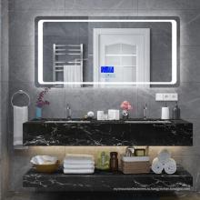 Белая глянцевая раковина для ванной комнаты с ящиками