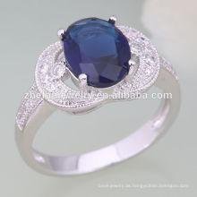 professionelle Schmuck Fabrik gelb Smaragd Diamant Diamanten Großhandel Weißgold Diamant Schädel Ehering