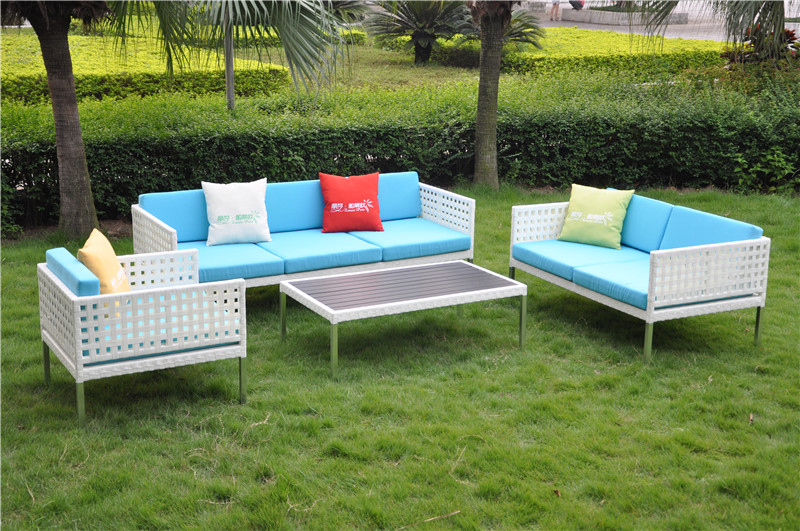 S0177 Open Weave Sofa Furniture
