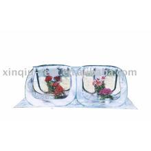 Transparent pvc flower house