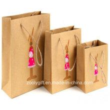 Fabricación personalizada de papel Kraft Paper Bag Fabricantes