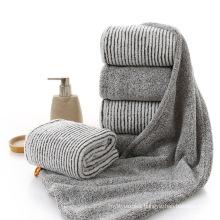 Manufacturers wholesale bamboo fiber weak twist children's towel children's towel kindergarten baby face towel small towe