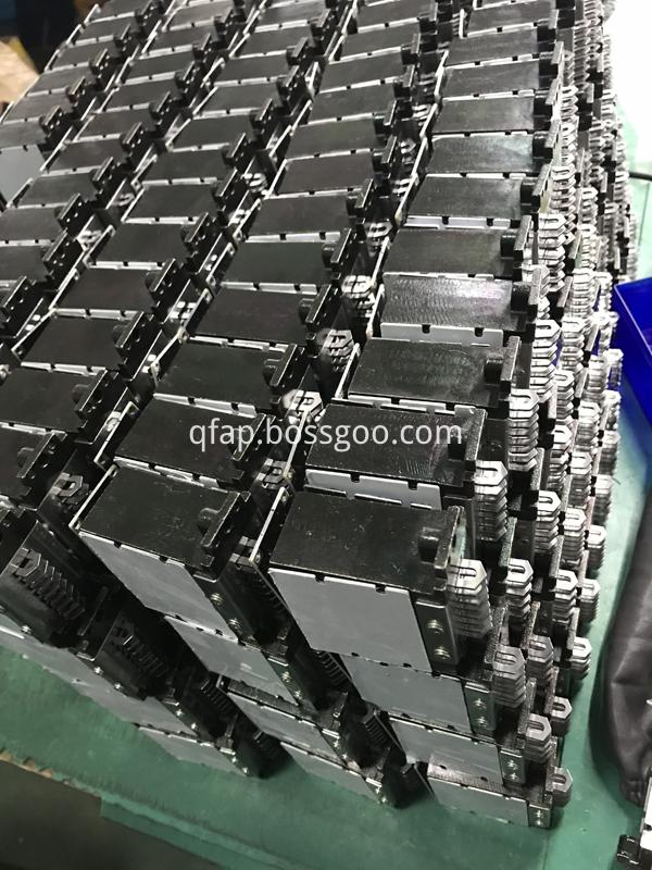 CNC needle selector