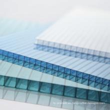 Hoja de policarbonato Cubierta de hoja de múltiples ventanas Techo de tragaluz