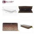 HEC Berühmte Marke Einzigartigen Stil Frauen Pu-leder Brieftasche Langen Reißverschluss Handy Geld Handtaschen Dame Geldbörse Brieftaschen