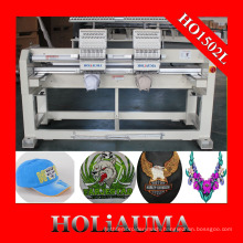 Factory Customized High Speed Computerized Embroidery Machine Two Head 15 Colors