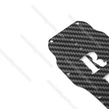CNC-Kohlefaser-Teile, CNC-Kohlefaser-Blatt-Ausschnitt