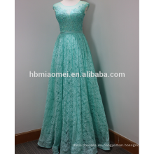 Vestido de novia musulmán de la ceniza del hombro de la tapa del vestido del nuevo diseño largo delgado delgado con cuentas de hombro 2015