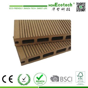 Compuesto plástico de madera Decking Tile/al aire libre terrazas (145H21B)