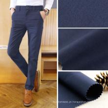 104gsm 50 * 50 / 152x80 algodão Poplin tecido de vestuário de tecido de calça azul escuro