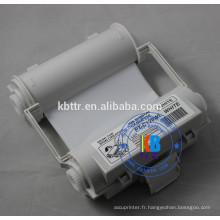 Ruban encreur blanc max bepop 120mm * 55m pour imprimante de machine de marquage de signe CPM-100HG3C