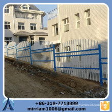 Fábrica directa personalizada de alta calidad escalera negro escalera pendiente cerca (Made in China)