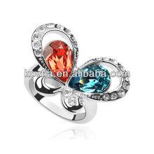 Belle bijoux en diamant en forme de papillon