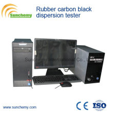 Verificador de dispersão de borracha de carbono preto