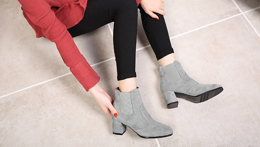 Black Booties for Women