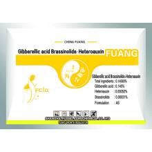 Biotecnología altamente eficiente Pesticida Brassinolide & Gibberellin