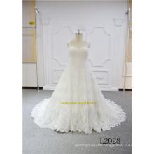 Plus Size Lace Princess Lace Customize Bridal Wedding Dresses 2017